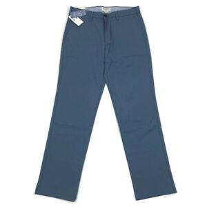 Dockers-Mens-Pants-Clean-Khaki-Slim-Tapered-Stretch-Blue-Variety-Sizes