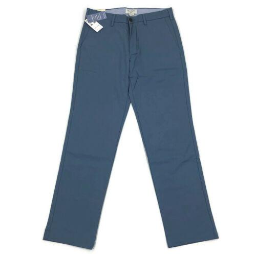 Dockers Mens Pants Clean Khaki Slim Tapered Stretch Blue Variety Sizes