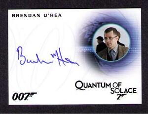 2016 James Bond Classics Brendan O/'Hea as Forensics Tech Full Bleed Autograph