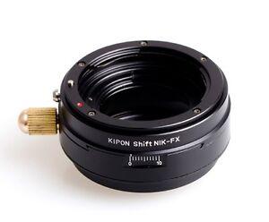 Kipon-Shift-Nikon-F-mount-AI-AF-lens-to-Fujifilm-Fuji-X-Pro1-X-E1-M1-FX-Adapter
