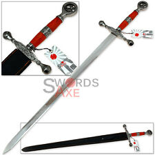 Fire & Ice Dragon Scorn One Handed Celtic Sword European Replica Full Tang