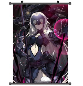 Fate Grand Order Joan Alter Anime HD Print Wall Poster Scroll Home Decor Cosplay