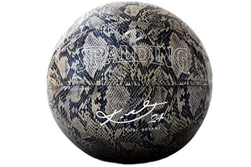 unisexe Spalding Kobe Bryant Snake Ball 76636Z balle Gris Cuir