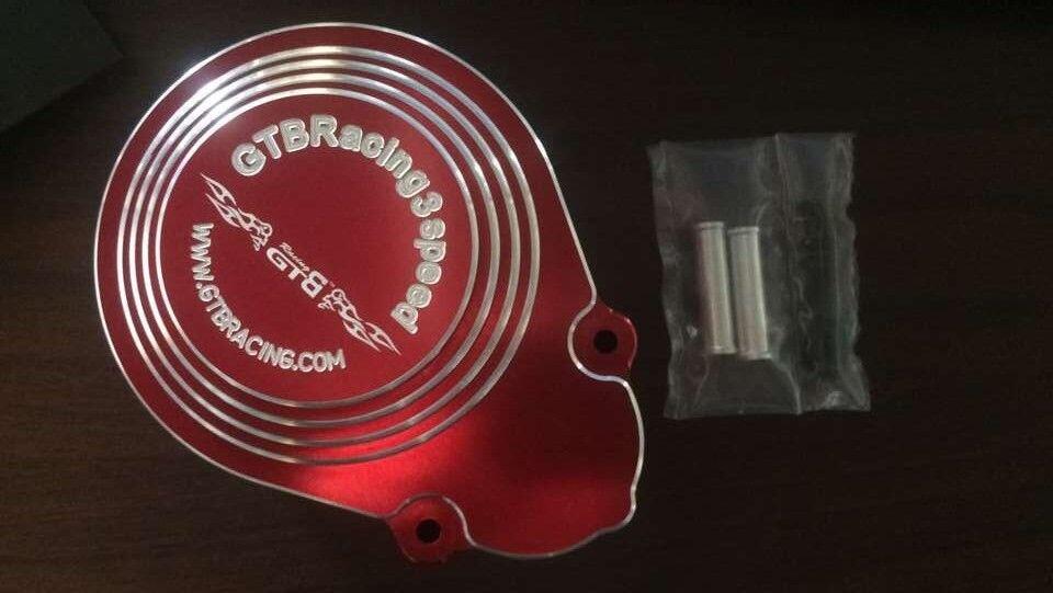 Alloy Gear cover of GTB 3 Speed Transmission Kit rossofor HPI BAJA RV KM 5B 5T 5SC