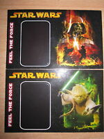 Star Wars Promo Walmart Exclusive Set Of 2 Mint Feel The Force Cards scanner
