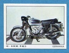 MOTO 2000 - Panini 1972 -Figurina-Sticker n. 48 - BMW R 60/5 -Rec