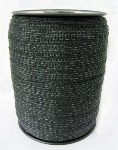 2 x 20mm vert 400m poly Escrime cheval pâturage Ruban clôture électrique