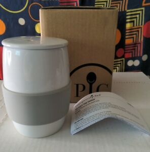 Pampered Chef Ceramic Egg Cooker with box and instructions item 1529