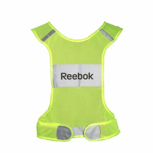 Details about  /Reebok Reflective Cut Away Design Running Vest