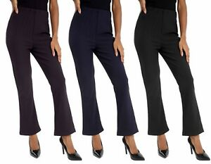 Bootleg neri Of coste 26 Ladies Pack a 3 New Taglia Stretch Pantaloni 10 FgIzUFw