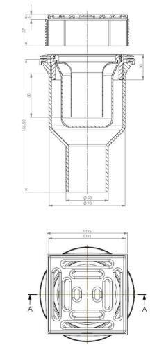 Duschelement Duschboard 100x140 cm mit mineralischer Spezialbeschichtung
