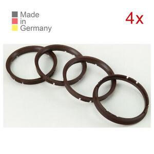 4X-Zentrierringe-73-0-x-66-6-mm-passend-fuer-DBV-Proline-CMS-Audi-BMW-Mercedes-VW