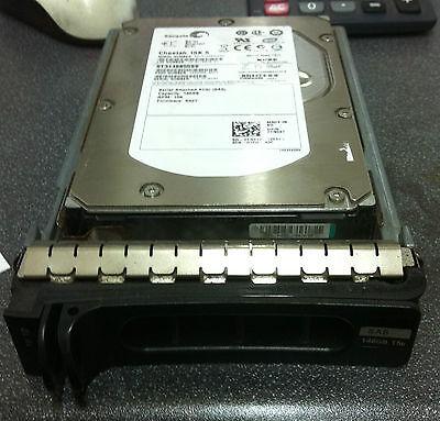 """DELL-TN937//TK237//ST3146855SS//RY491-146GB 15K 3.5/"""" SAS HARD DRIVE WITH TRAY"""