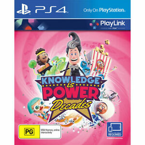 Knowledge-is-power-Decades-PS4-Playstation-4-Game-Disc-Only