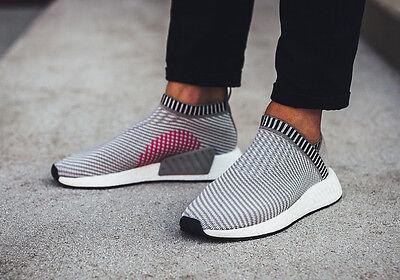 Adidas NMD CS2 City Sock 2 Grey Size 11.5. BA7187 PK Ultra Boost