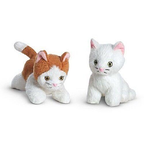 Genuine American gatti Girl bambola REBECCA'S PET cuccioli due gatti American NUOVO in scatola Peluche  19a507