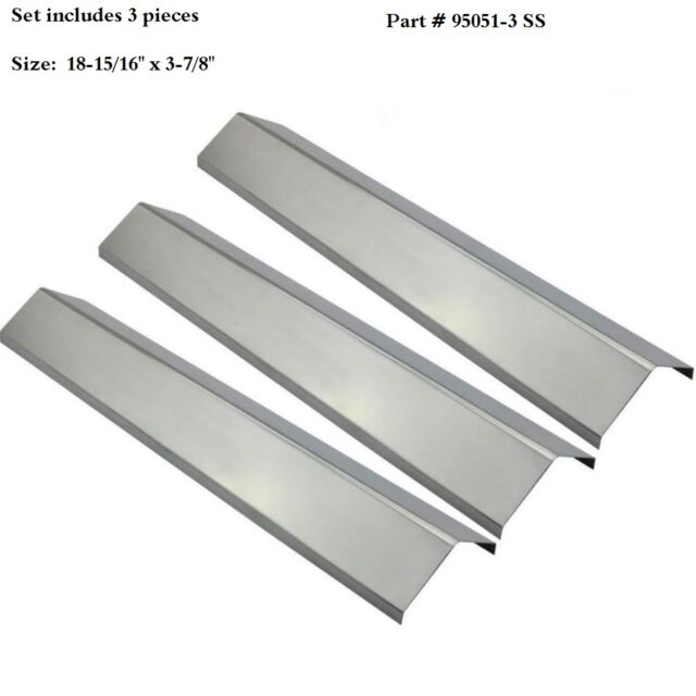 Chargriller 3001,3030,4000,5050 Replacement Stainless Steel Heat Plate SPX051-3