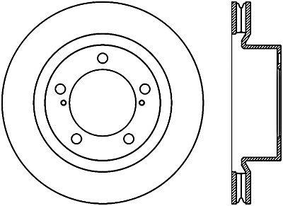 127.62013CR Brake Rotor StopTech