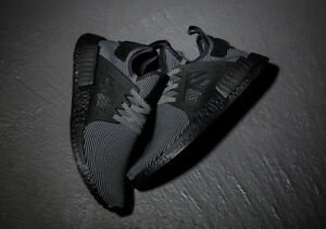 new product 5fb6a f2695 Details about Adidas NMD XR1 PK Core Black S32211 ( UK 11.5 ) Primeknit CS1  Boost Limited