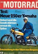 M7113 + Test Yamaha DS 7 250 ccm + Suzuki TM 400 R MC + Das MOTORRAD 13/1971