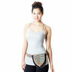 New-Unisex-Eco-Cotton-fanny-pack-Utility-Hip-Festival-Bum-Travel-belt-bag-70103