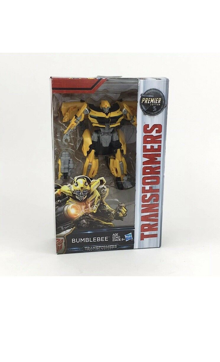 Hasbro Transformers The Last Knight Deluxe Class Bumblebee & Strafe Dinobot Set