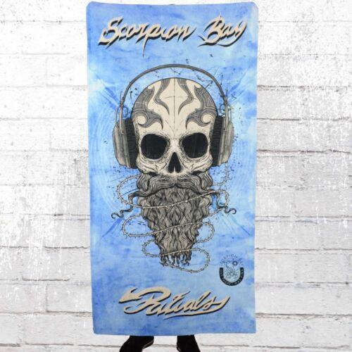 Scorpion Bay Beach Towel Skull-Phone Strand Handtuch sky Strandlaken Badetuch