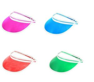 Unisex Poker Visor Hat Select 4 Colours Golf Stag Dance Cap Headband ... 929e224f167b