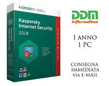 Kaspersky internet security 2019, 2018 licenza digitale 1 anno 1 dispositivo
