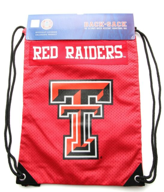 Backpack Jacket Vintage Embroidered Texas Tech Red Raiders Sew-on Patch Hat