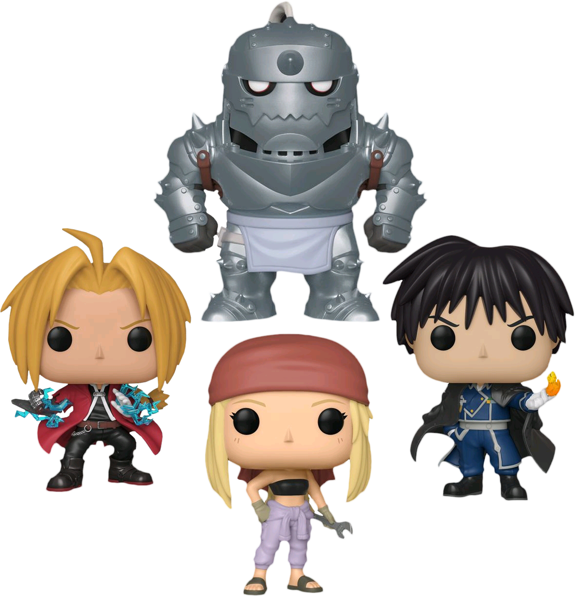 FUNKO POP  Fullmetal Alchemist ( SET OF 4)