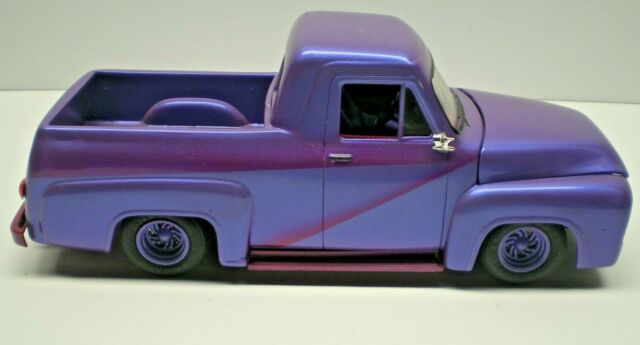 Vintage Monogram 55 Ford Panel Truck Custom Conversion Pick Up VERY NICE L@@K!