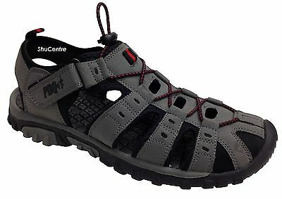 Mens PDQ Summer Sports Adventure Trail Walking Closed Toe Sandals Shoe Size 7-12