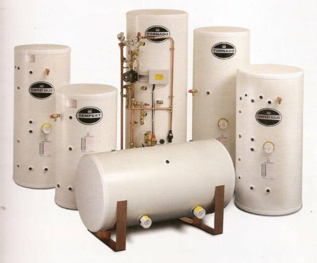 Telford Tempest Unvented Hot Water Cylinder 170 Litre Direct ...