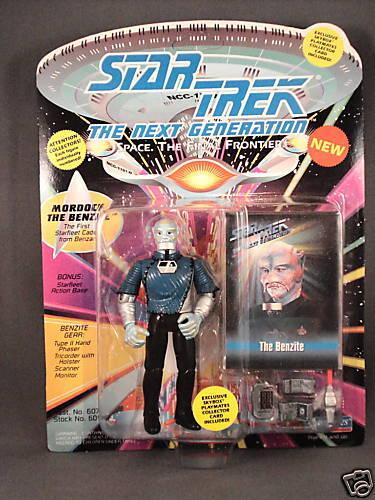 1993 Playmates Star Trek TNG The Benzite