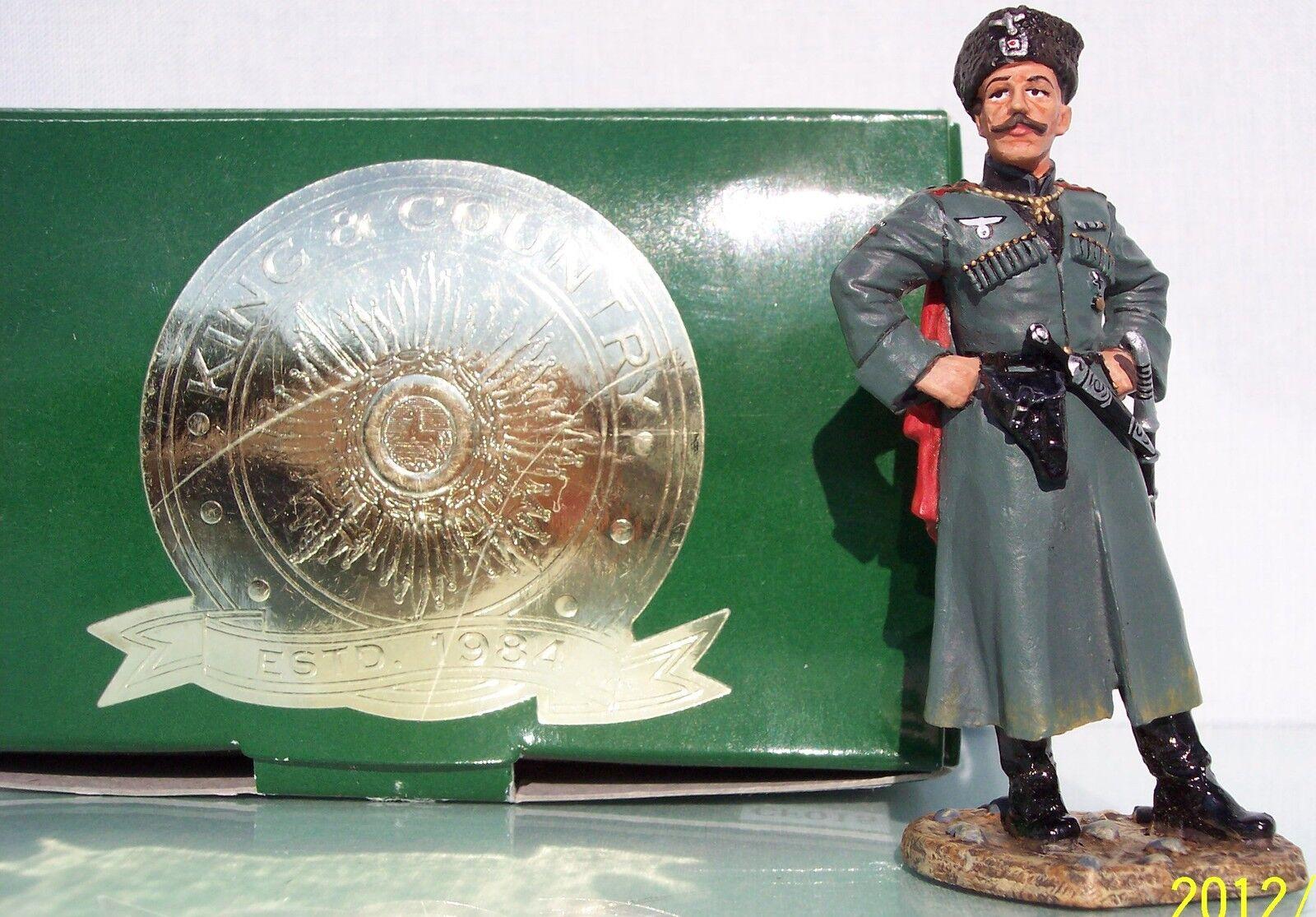 Re & Paese Club Dei Collezionisti CF015 WW2 Tedesco Cosacco MIB