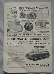 1963-Barnacle-car-accessories-amp-Monsall-Luggage-holdall-Original-advert