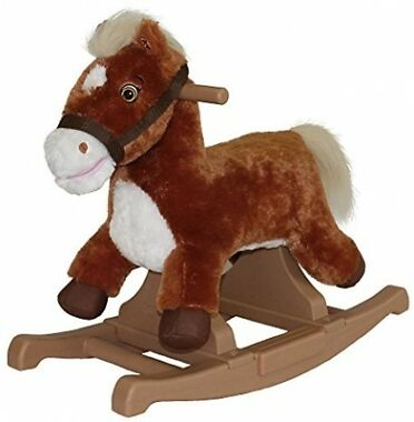 Rockin' Rider Brown Rocking Pony Ride-On