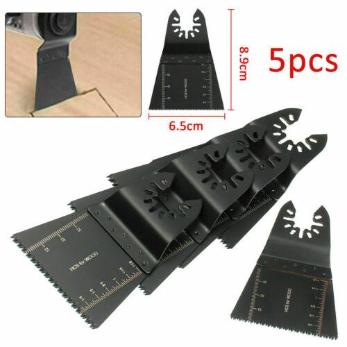 5x Oscillant Multi Outils Scie Lames 65 mm Fein Multimaster métal Dewalt Makita.