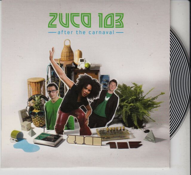 ZUCO 103 After The Carnival PROMO CD ALBUM DOX RECORDS HOLLAND LATIN BEAT