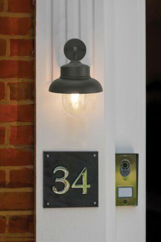 Parete da giardino esterno luce 1 LAMPADINA Fisherman/'S Lanterna stile in metallo lampada IP44 E27