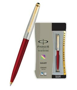 10xPARKER GALAXY STANDARD GT BALL POINT PEN (RED) WITH FREE WORLDWIDE SHIPPING