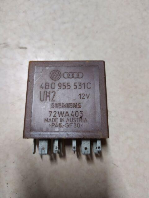 Audi A4 B5 A6 VW Passat 3B Relais Wisch Wasser 377 4B0955531A 4B0 955 531 A