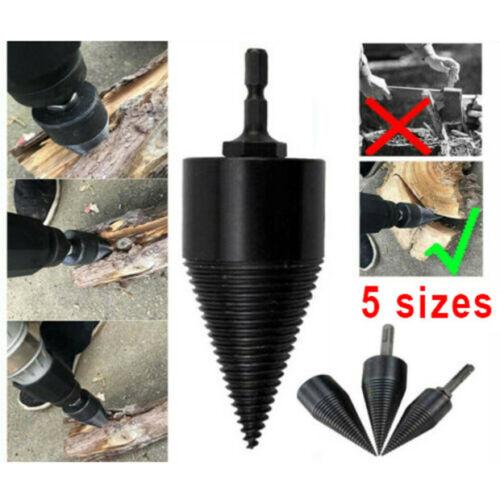 150mm Drill Bit Screw Cone Driver For Wood Log Splitter Splitting Hole Cutting