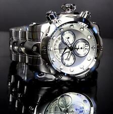 Invicta Reserve Venom Silver Tone Steel Chronograph Swiss Movt 52mm Watch New