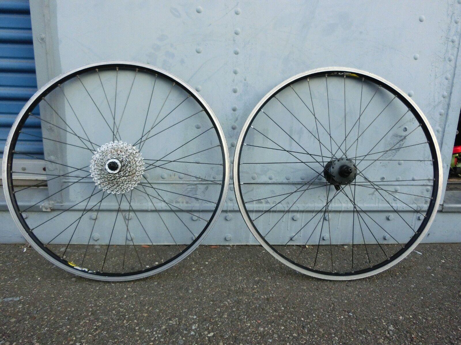 Mavic Mountain Bike Wheelset 26  Wheels City Street Rims Lot