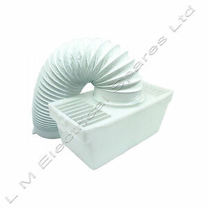 White-Knight-Universal-Tumble-Dryer-Indoor-Condenser-Vent-Kit-Box-With-Hose
