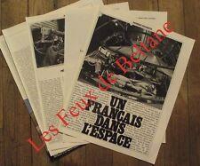 Article Un francais dans l'espace,Paul Baudry   , photos ,1980 , clipping