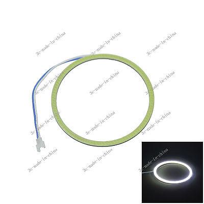 White 90mm/3.54in 81 Chips Car COB Led Angel Eyes Halo Ring Light 9V-30V O090