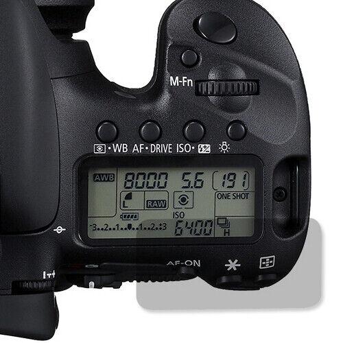 Top Lcd Protector de pantalla protector Protector Para Canon Eos 7d Cámara